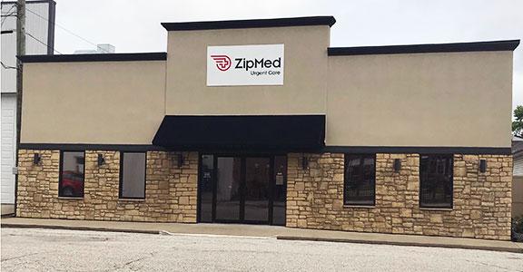 ZipMed Urgent Care Building